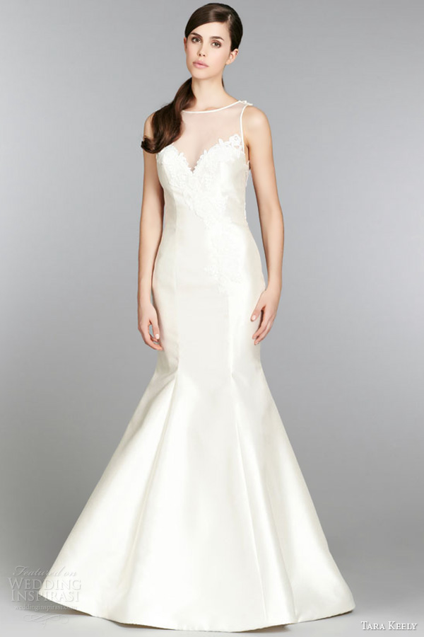 Trumpet Style Wedding Dresses With Sweetheart Neckline