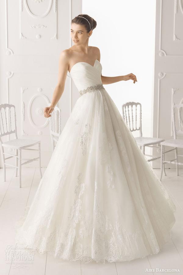 3ba9d42d103 Aire Barcelona 2014 Bridal Collection — Lace Wedding Dresses ...