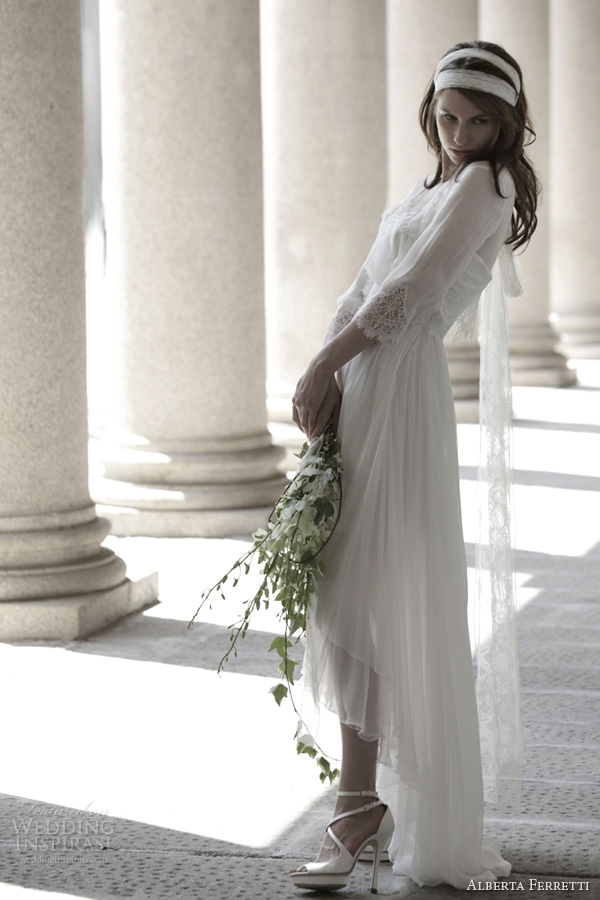 alberta ferretti bridal 2014 stirling wedding dress sleeves