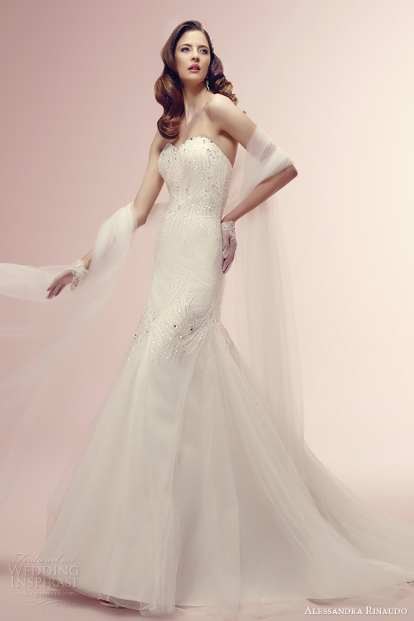 alessandra rinaudo bridal 2014 sposa rogue strapless wedding gown