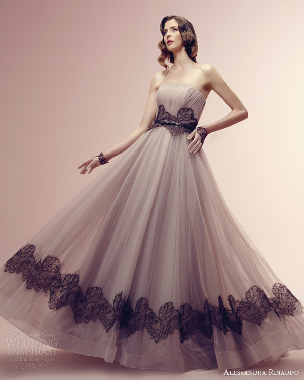 Red Wedding Gowns 2014: Alessandra Rinaudo 2014 Wedding Dresses
