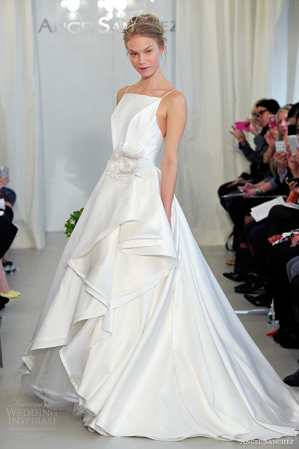 Angel Sanchez Bridal 2017 Wedding Dress