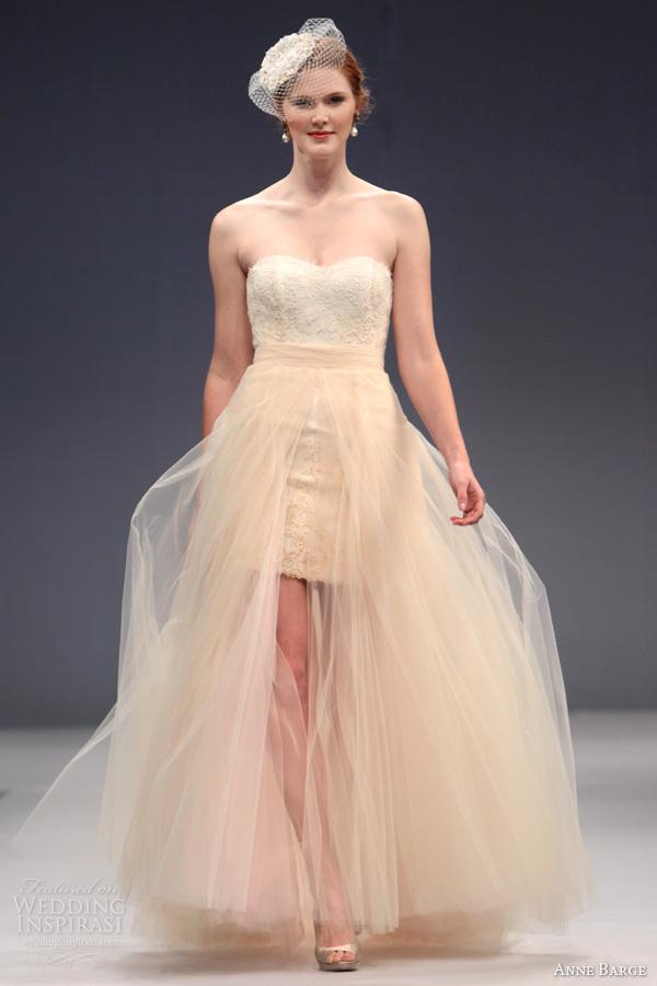 Anne barge fall 2013 wedding dresses wedding inspirasi for Lace blush wedding dress