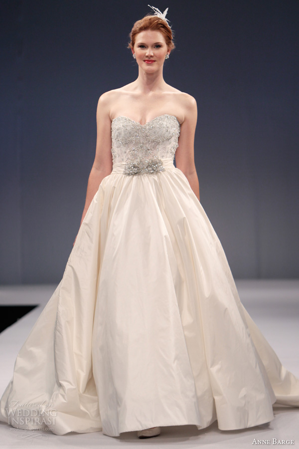 anne barge fall 2013 wedding dresses wedding inspirasi. Black Bedroom Furniture Sets. Home Design Ideas