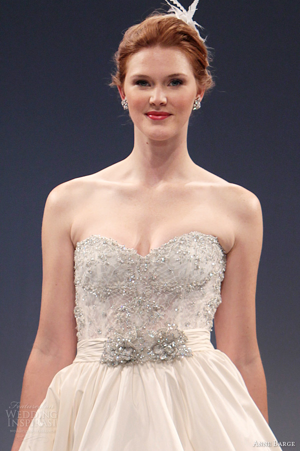 Anne Barge Fall 2013 Wedding Dresses Wedding Inspirasi
