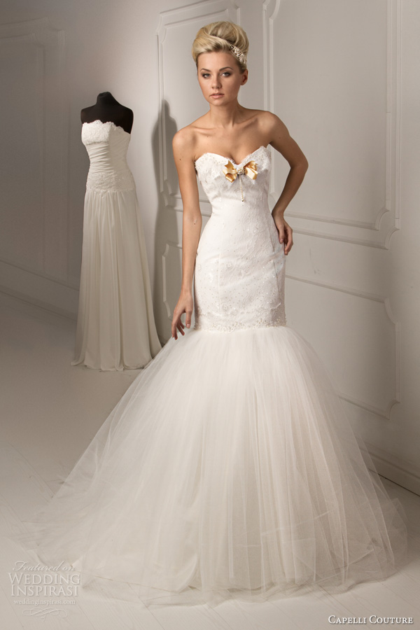Designer Mermaid Style Wedding Dresses 99 Lovely capelli couture bridal lalique