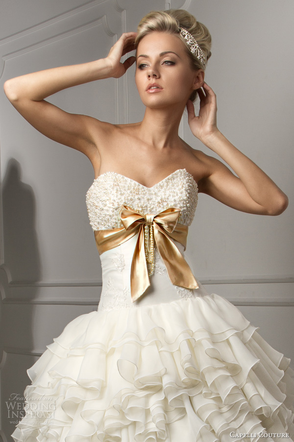 Capelli Couture 2013 Wedding Dresses