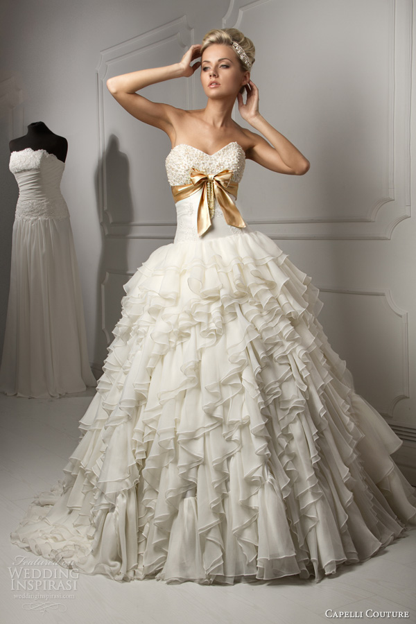 Couture Ball Gown Wedding Dresses | Fashion Wallpaper