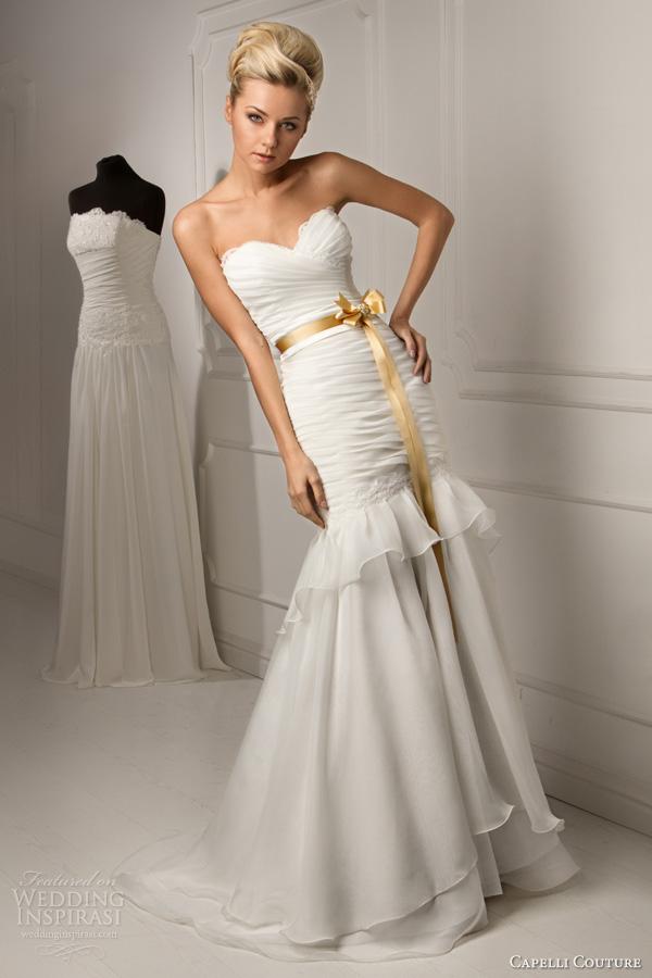 Capelli Couture 2013 Wedding Dresses Wedding Inspirasi