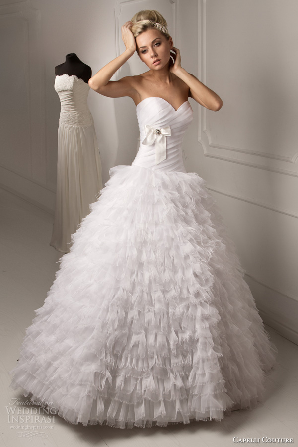 capelli couture 2013 wedding dresses wedding inspirasi page 2. Black Bedroom Furniture Sets. Home Design Ideas