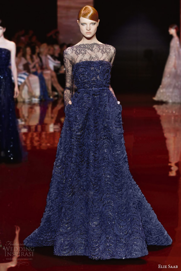 Elie Saab Fall Winter 2013 2014 Couture Collection