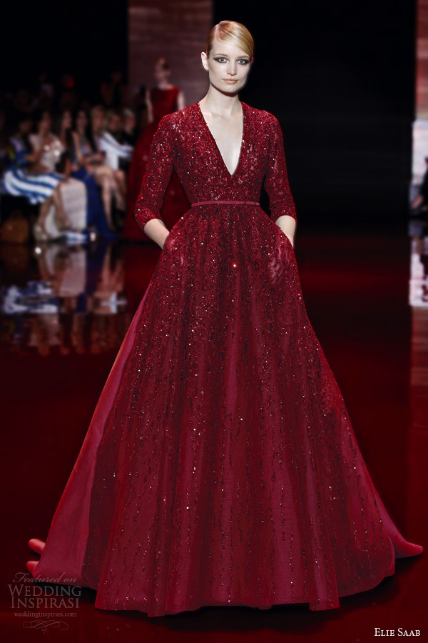Elie Saab Fall/Winter 2013-2014 Couture Collection | Wedding ...