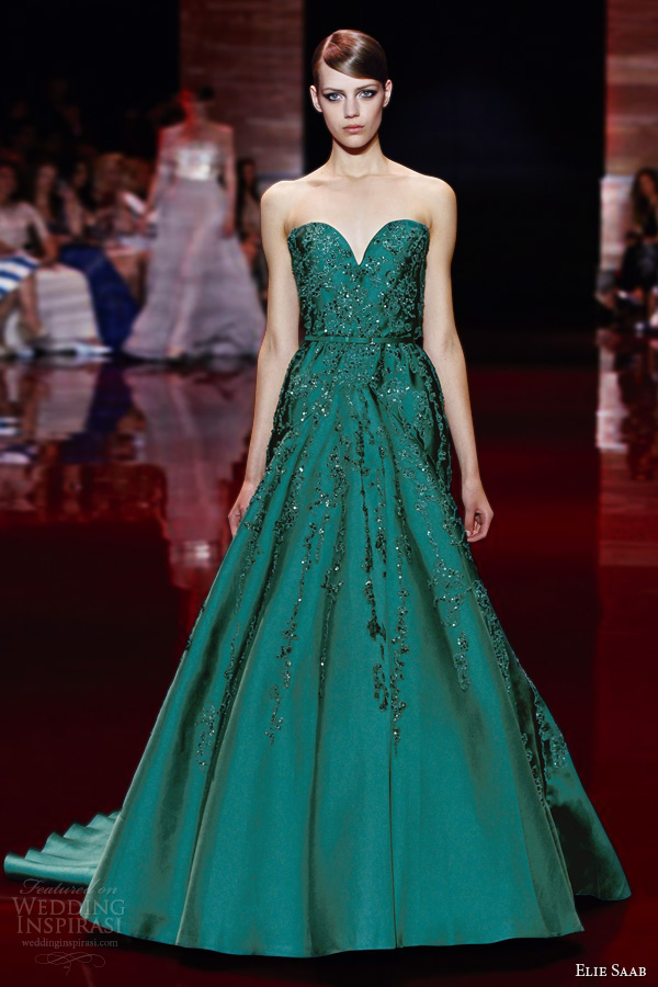 Fall winter 2013 2014 couture collection wedding inspirasi page 2