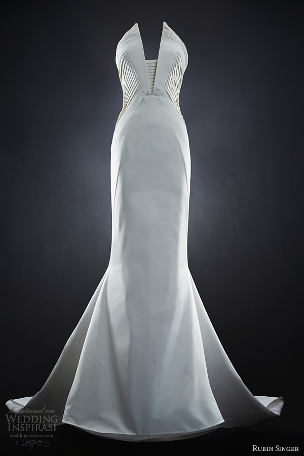 rubin singer 2014 bridal naomi wedding dress neckline