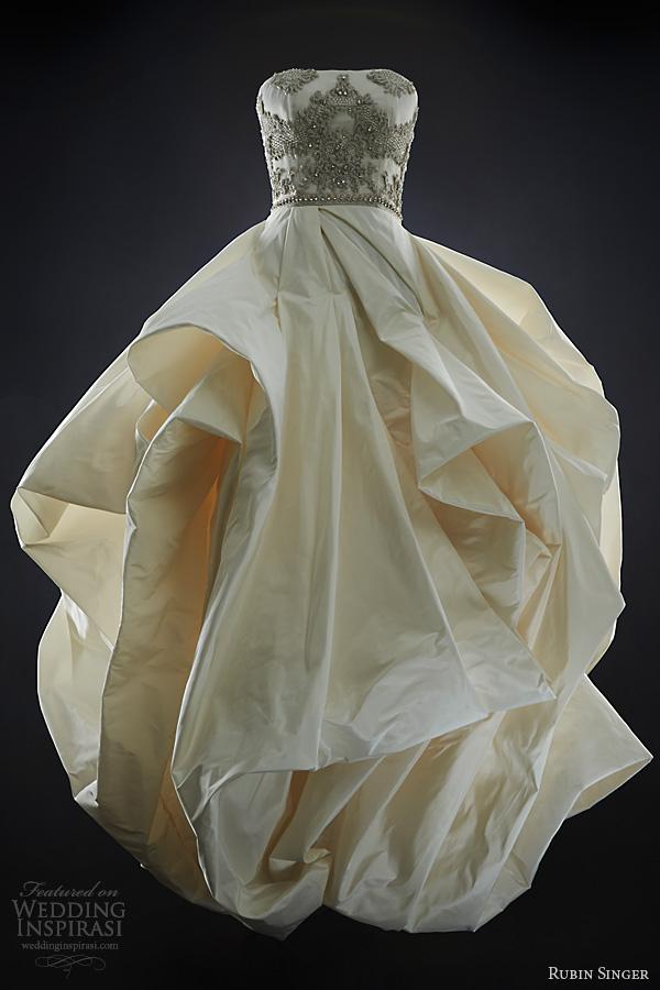 rubin singer bridal 2014 juliette strapless wedding dress