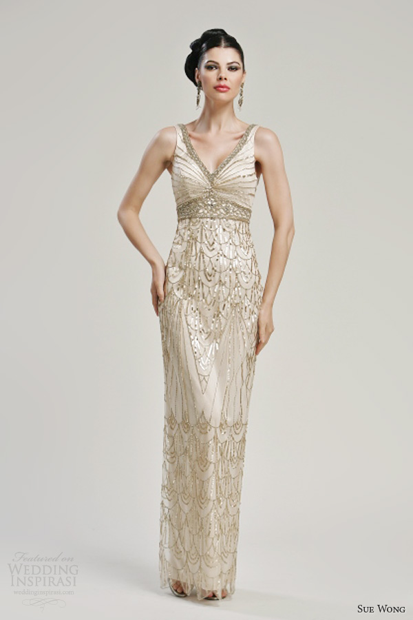 Champagne Wedding Dresses Fall 2013