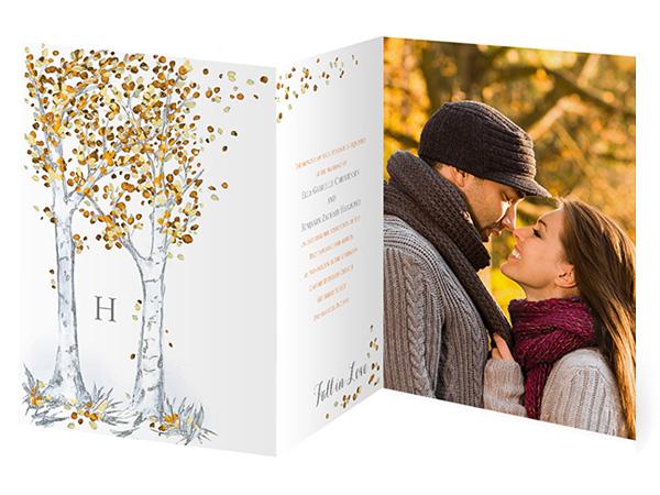wedding invitations by dawn photo card folding style dw26991fc