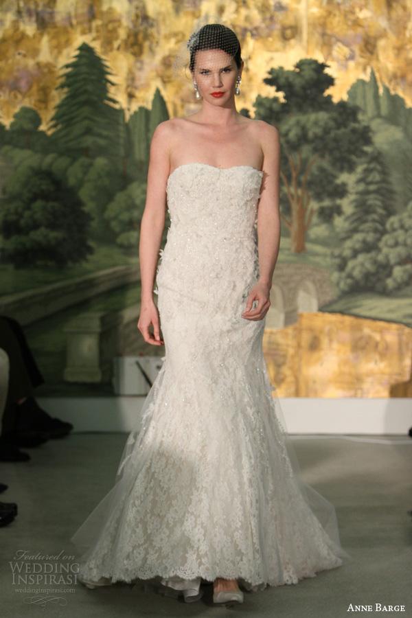 anne barcaça de noiva primavera 2014 vestido strapless coriandre casamento do laço