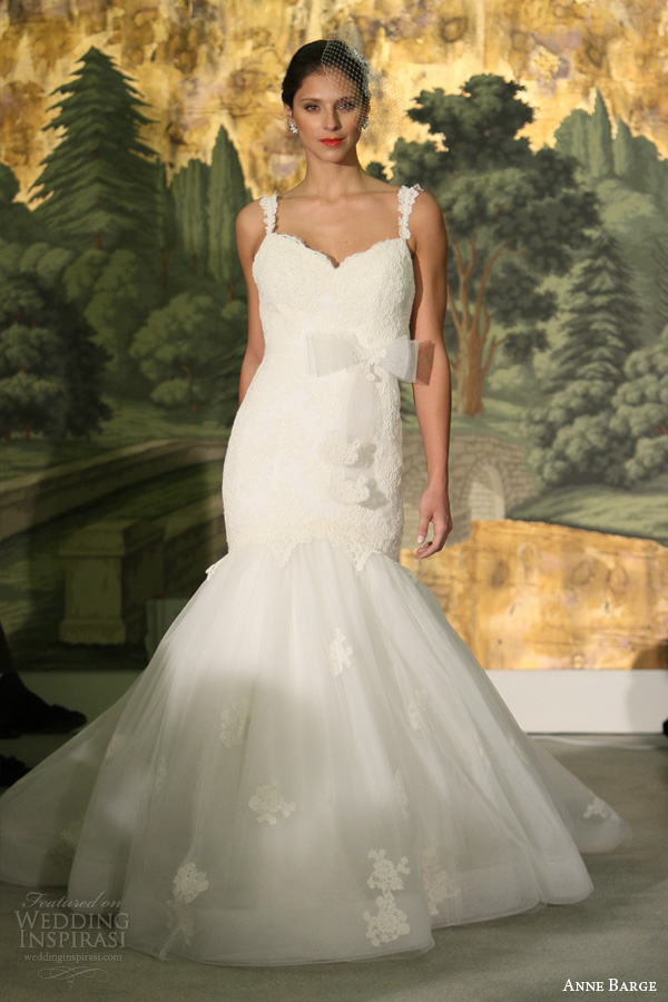 Anne Barge Spring 2014 Wedding Dresses Wedding Inspirasi
