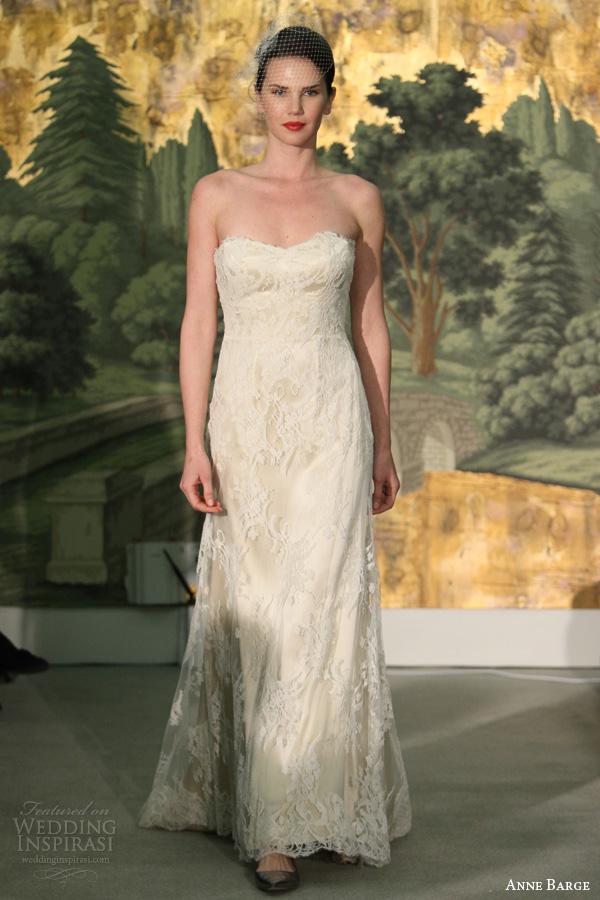 anne primavera barcaça 2014 bridal narcisse strapless casamento ajuste alargamento vestido off white