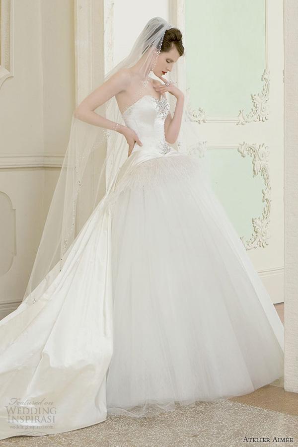 atelier aimee 2014 giuditta princess ball gown wedding dress