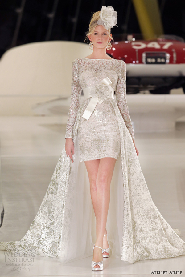 atelier aimee 2014 sara long sleeve wedding dress