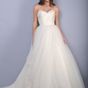 blue willow anne barge wedding dresses spring 2014 adagio strapless ball gown