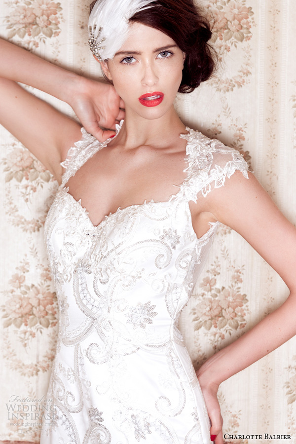 charlotte balbier 2014 beaullea wedding dress