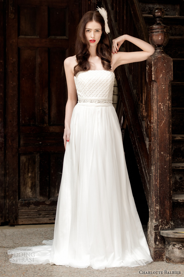 charlotte balbier 2014 bridal holly wedding dress