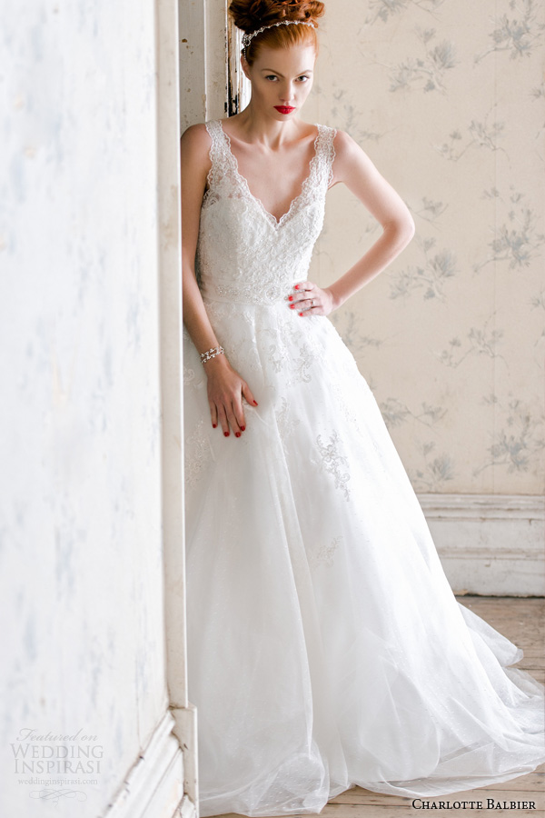 charlotte balbier bridal 2014 belle wedding dress