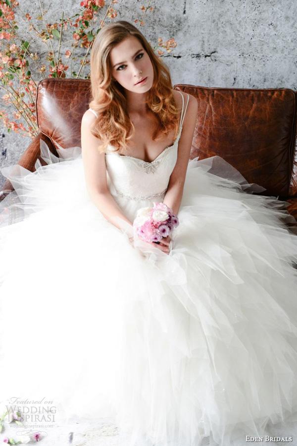 Black & White Wedding Dresses 29 New Eden Bridals Wedding Dresses