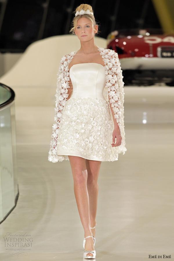 short floral dresses for weddings