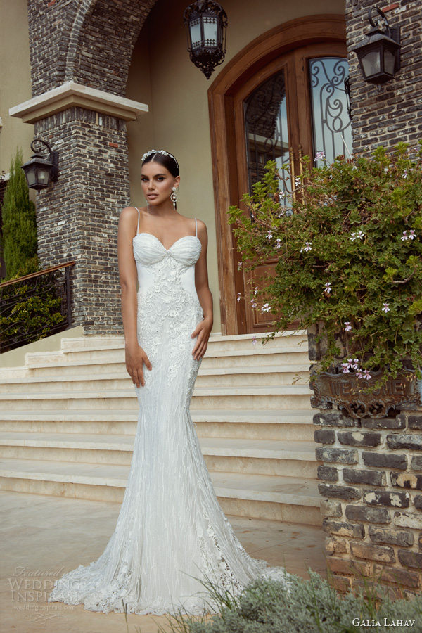 galia lahav wedding dresses 2014 khaleesi bridal gown straps