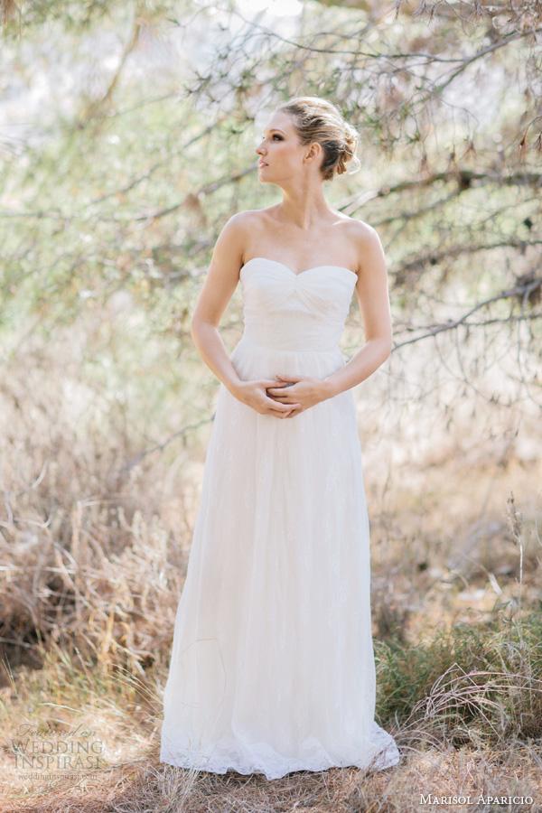 marisol aparicio wedding dresses diandra strapless lace gown