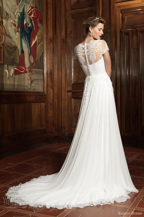 raimon bundo 2014 infanta wedding dress illusion back