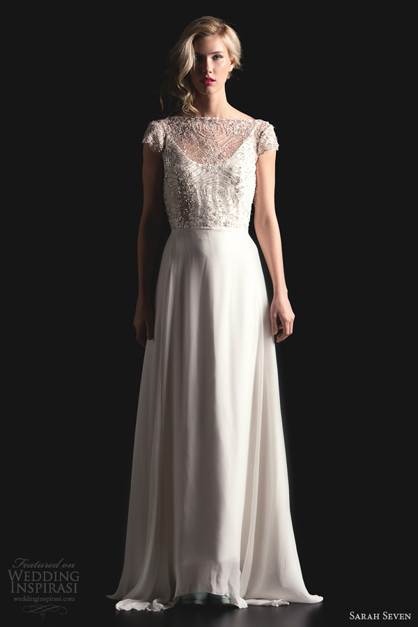 Sarah Seven Spring 2014 Bridal Collection Wedding