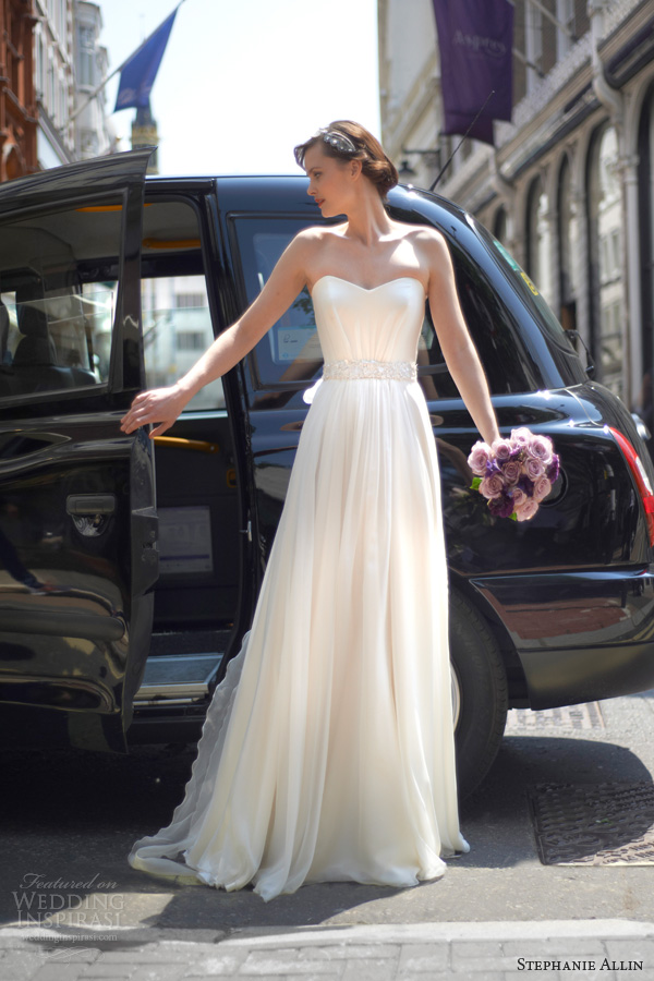 stephanie allin 2014 bridal margot strapless wedding dress