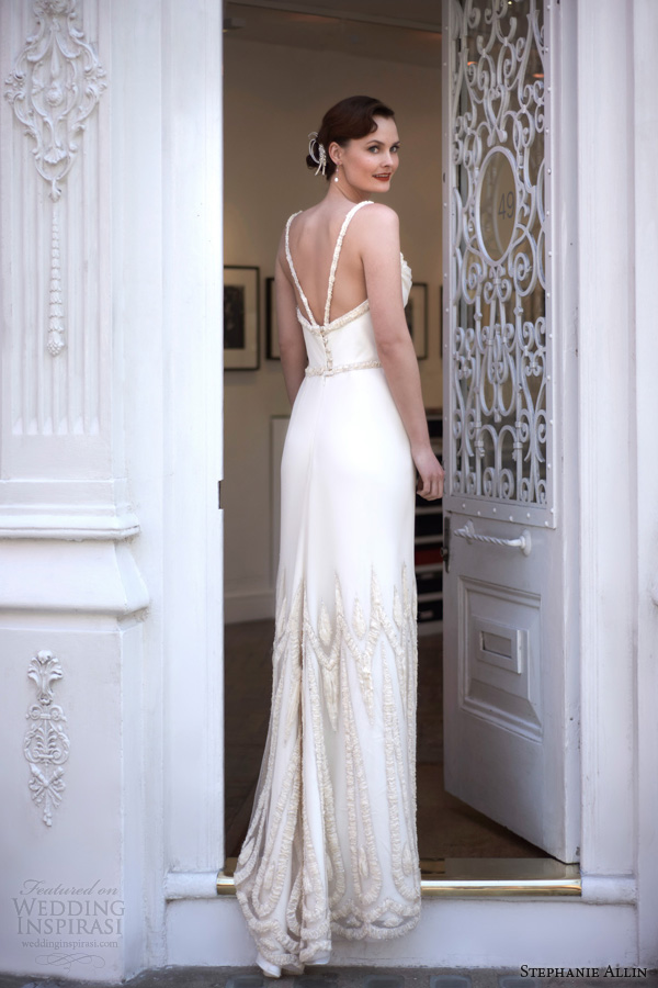 stephanie allin bridal 2014 paris wedding dress back train