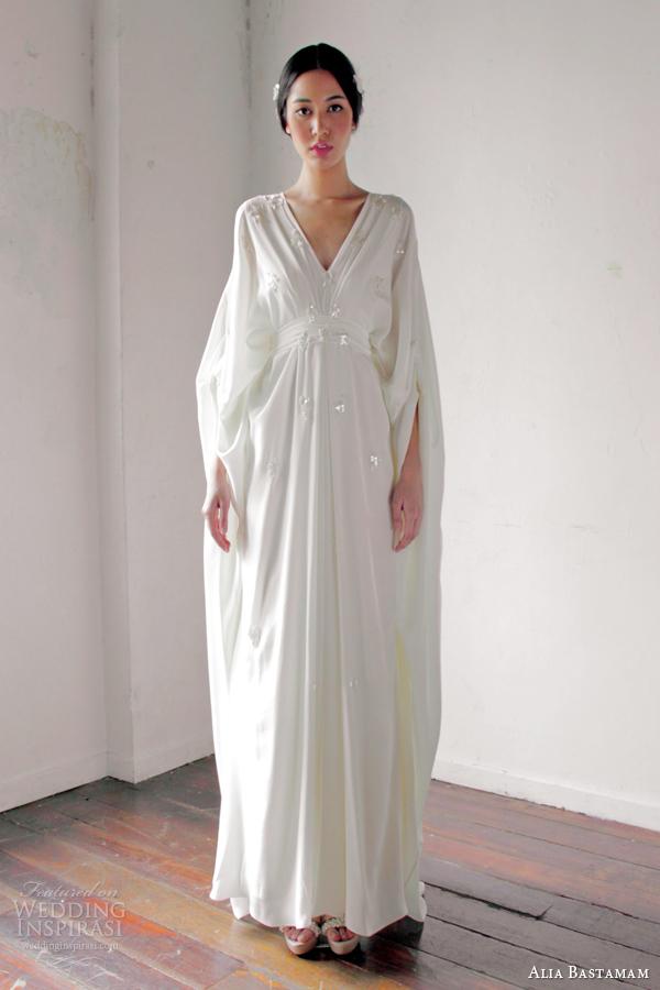 alia bastamam 2013 wedding dresses wedding inspirasi With kaftan wedding dress