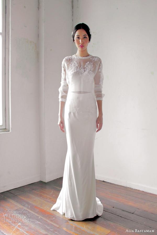 Alia bastamam 2013 wedding dresses wedding inspirasi for Cover up wedding dress