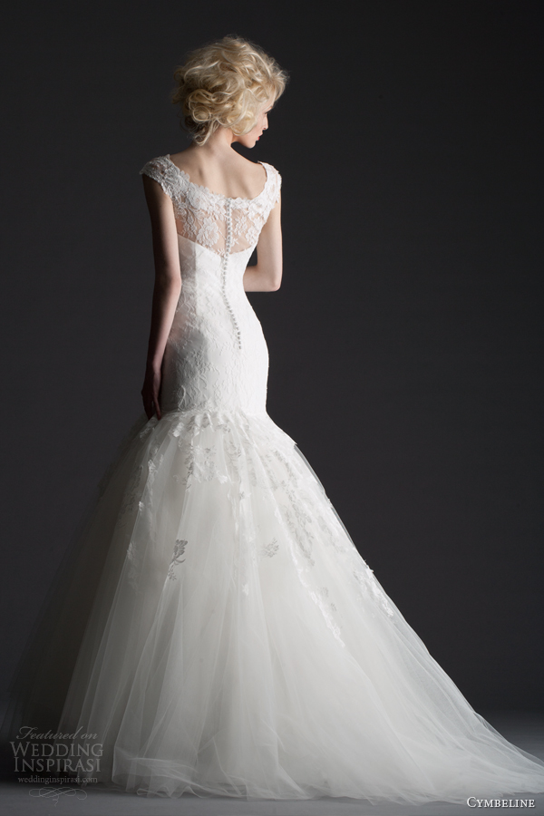 cymbeline 2014 bridal collection hema fit and flare wedding dress