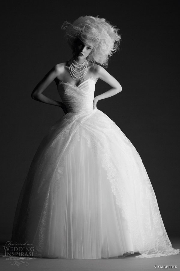 cymbeline wedding dresses 2014 hada strapless ball gown