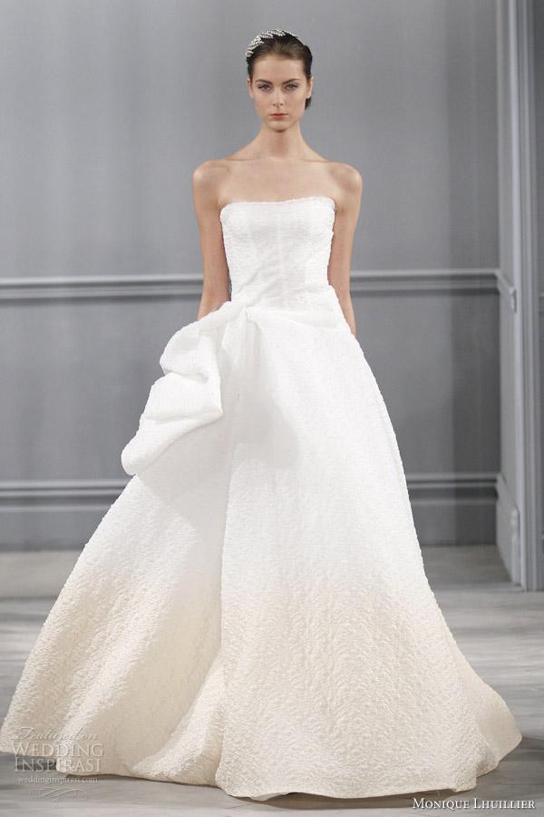 Monique lhuillier spring 2014 wedding dresses wedding for Wedding dress in paris