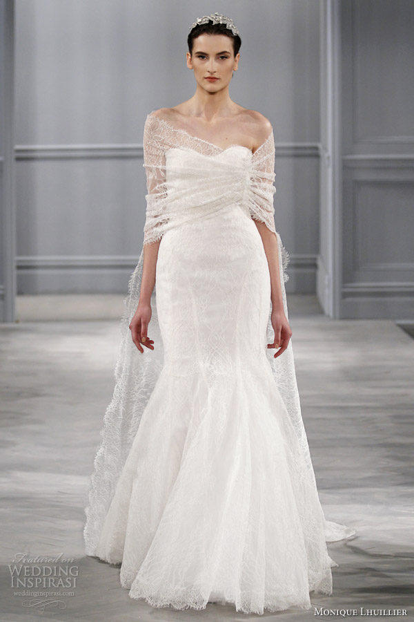 monique lhuillier spring 2014 wedding dresses wedding
