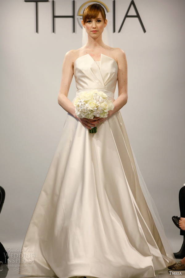 theia 2014 white couture wedding dress style 8900556