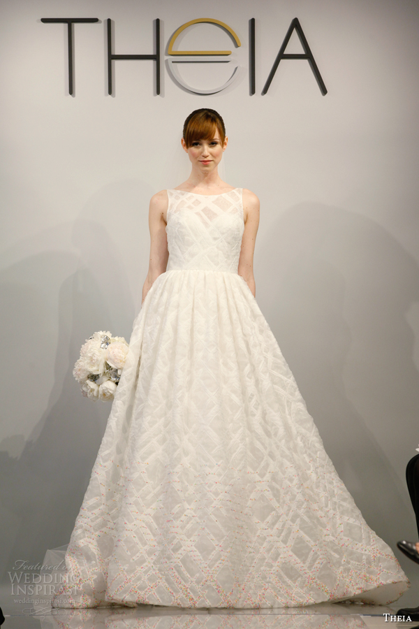 theia bridal spring 2014 style 890075 sleeveless wedding dress
