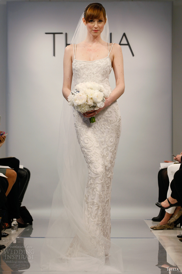 theia bridal spring 2014 white couture wedding dress style 1890083