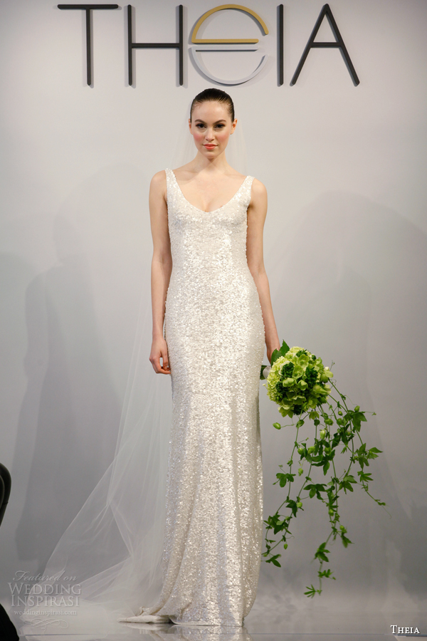 Theia Spring 2014 Wedding Dresses | Wedding Inspirasi | Page 2