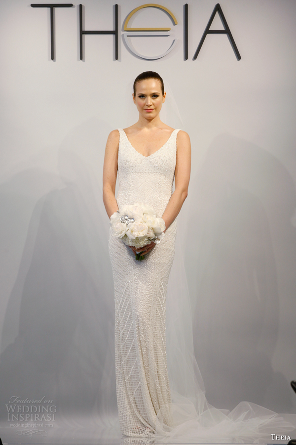 theia wedding dresses spring 2014 style 890062 sleeveless
