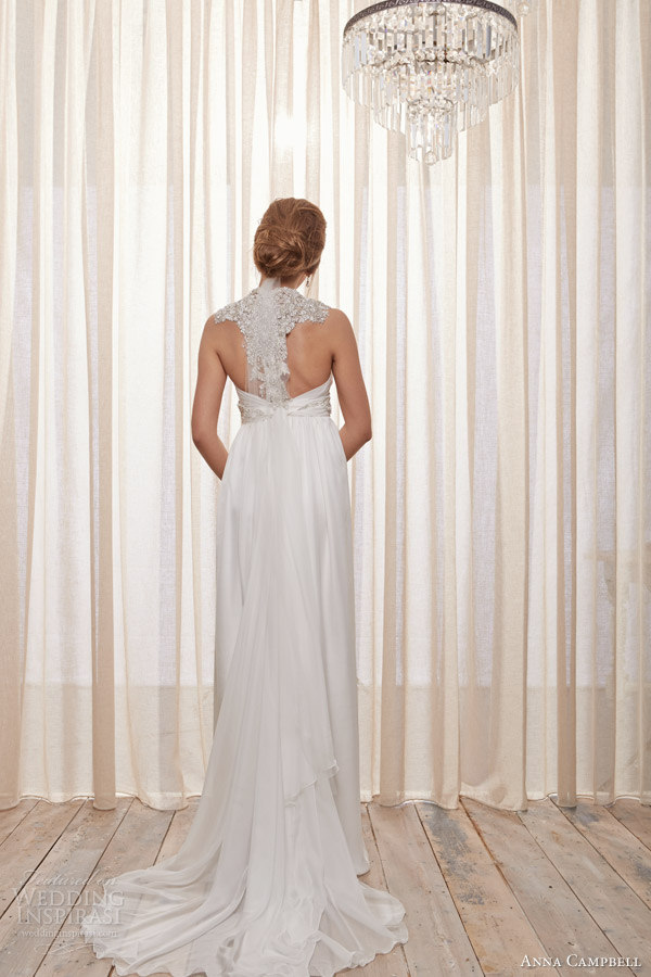 anna campbell 2013 2014 belle ivoire pearl ivory wedding dress back
